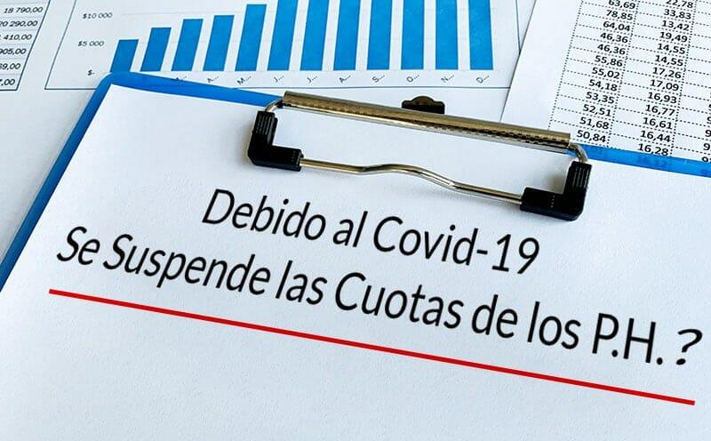 Las Cuotas de Gastos Comunes de los P.H. y el Covid-19